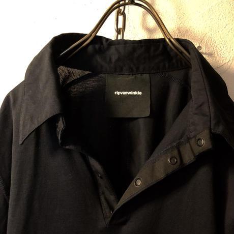 ripvanwinkle ストレッチコットンポロ BLACK ユーズド美品