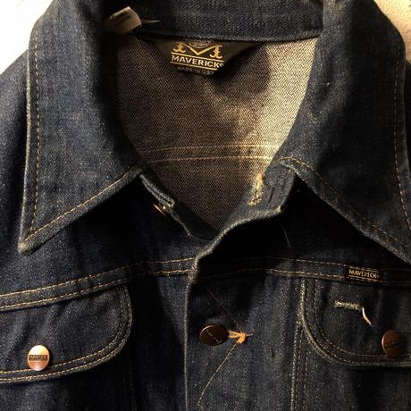 70,s U.S.A.製MAVERICK Denim  jacketヴィンテージ極上美品