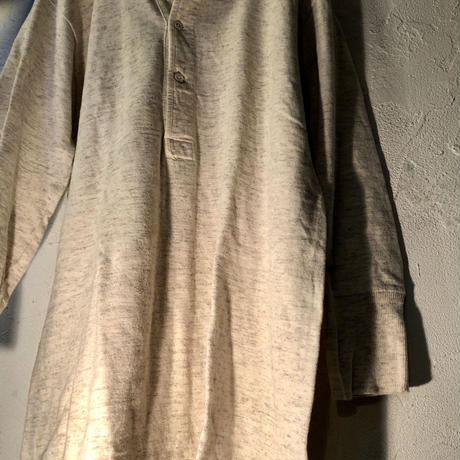 1930,s EURO Military DEAD STOCK Henley neck 五分袖Shirt