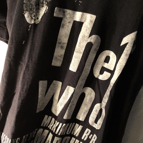 UK三大PUNK 80,sヴィンテージ The Who PUNK Tee美品