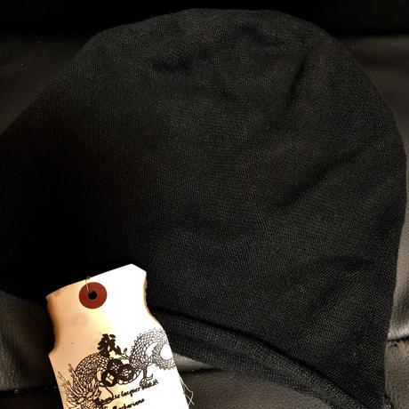 フランス製 agnis b. knit cap BLACK ユーズド美品スペシャルプライス