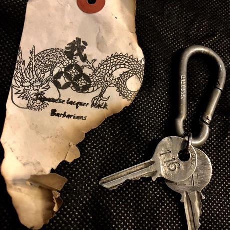 1940,s vintage IRON Walletchain カスタマイズパーツシリーズ15 ★60,s U.S.A.レアモデルアルミvintage Key & ヘッドクリップ