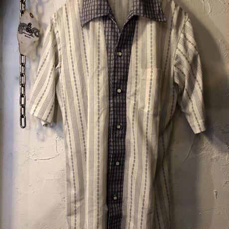 70,s 日本製 Konpora 開襟Shirt デッドストック極上美品スペシャルプライス