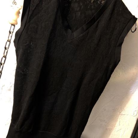 90,s ITALY JEAN COLONNA  sleeveless cutsew オールドモード美品