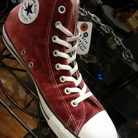 CONVERSE Japan ALL STAR 06,s Limited Model ベロアWINE 美品