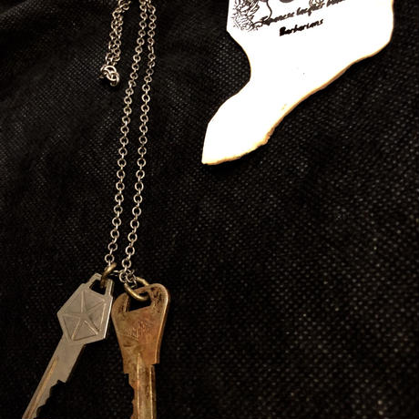 1940,s vintage U.S.A. IRON Walletchainカスタマイズパーツシリーズ11 ★60,s vintage U.S.A.CARS【CHRYSLER】Key-necklace
