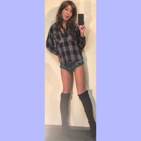 オールドモデル JOE McCOY & CO. BLACK×GRAY チェックネルシャツ美品スペシャルプライス