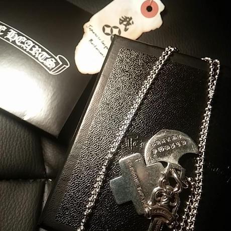 Chrome Hearts 3torinkets 直営ボールチェーン付属BOX付極上美品