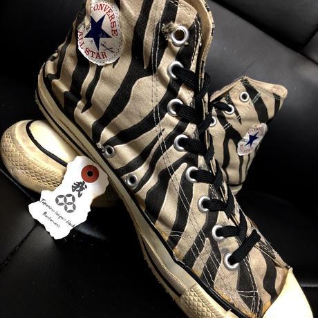 Rock'n Roll 80,s vintage U.S.A. ALL STAR 希少ZEBRA CANVAS Hi エイティーズスペシャルプライス