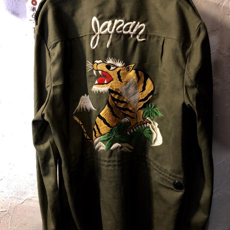 70,s レアモデルSUKA Military Pullover Jacket 美品