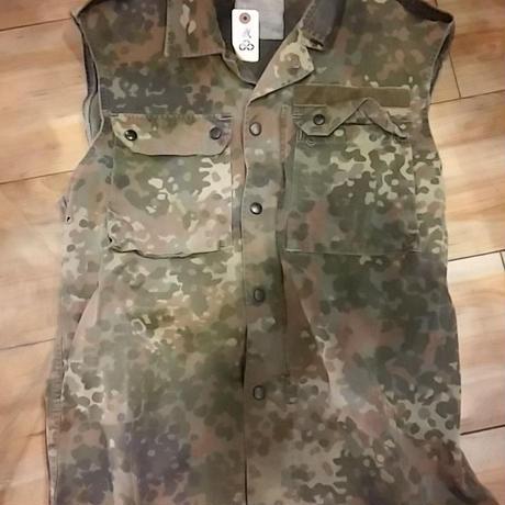 60,s EURO Military Camouflage Cutoff Sleeveless VEST