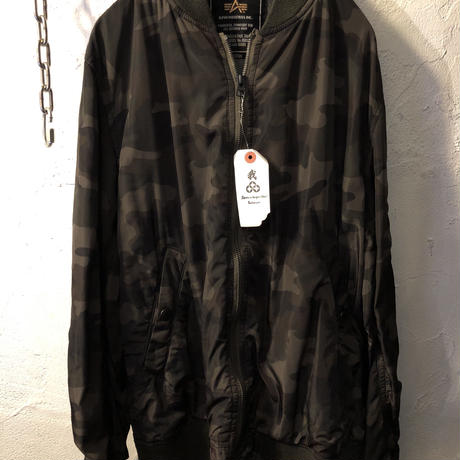 ALPHA社 Camouflage  DRIZZLER JACKET美品