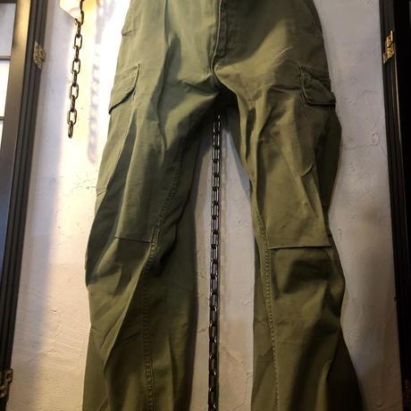 リアル米軍ミリタリー69年製 42TALON Jungle Fatigue PANTS グッドサイズSMALL REGULARスペシャルプライス