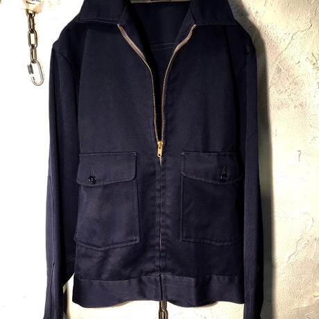 60-70,s U.S.A. LEE TALONジッパー Worker Jacket