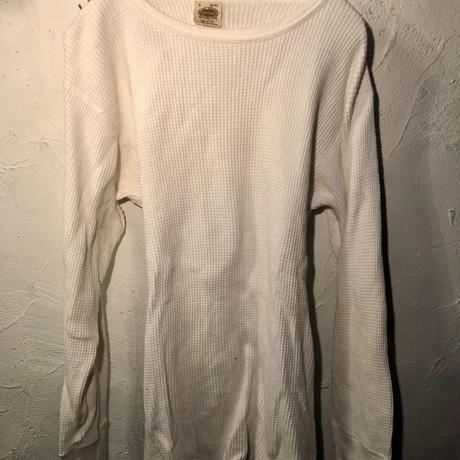 80,s MADE IN U.S.A. Waffle Long Tee
