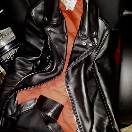 Lewis Leathers LIGHTNING 391T T.F インライナーレッドキルティング34美品