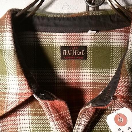 THE FLAT HEAD 厚手ネルシャツ