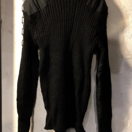 EURO MILITARY COMMANDO SWEATER BLACK UK38美品