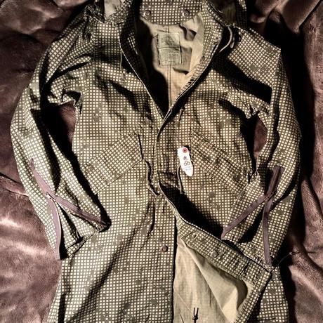 U.S.ARMY 82年製 Night Camouflage MODS Parka アームロングジッパー カスタムデッドストック希少X-SMALL目玉カスタマイズヴィンテージミリタリー