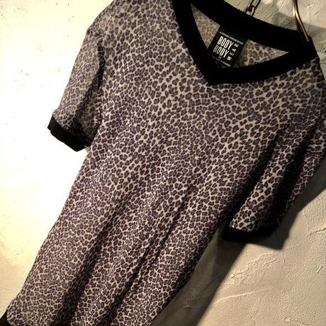 90,s CANADA製 STEPHEN SANDLER Leopard Shirt美品