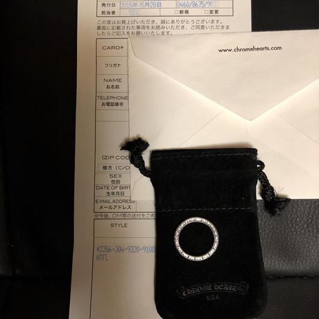 Chrome Hearts NTFL RING 大阪グランフロント直営店2015ギャランティー極上美品16号スペシャルプライス