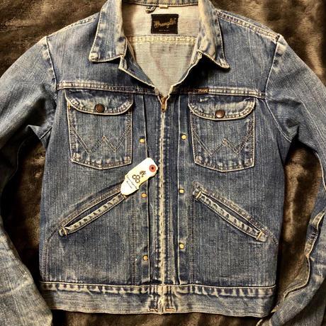 70,s USA製Wrangler Denim Jacket