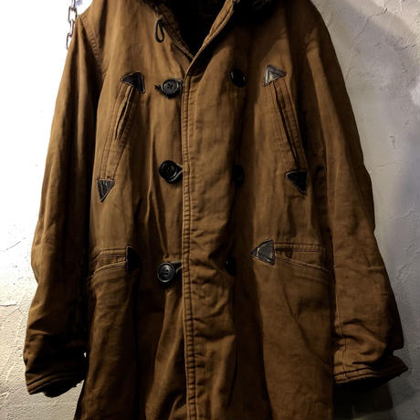 1930,s USN Military TRENCH COAT  希少目玉ヴィンテージ
