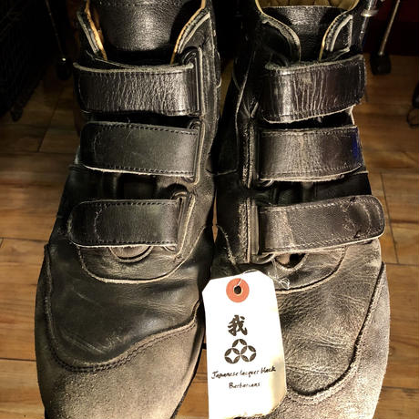 60,s EURO Military Leather SNEAKERS