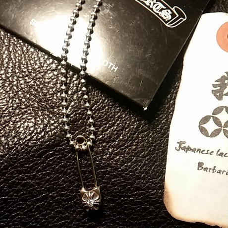 Chrome Hearts ダイヤ入りセーフティピン直営ギャラ美品