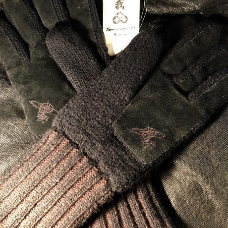 VIVIANNE WESTWOOD Wool × Leather Glove