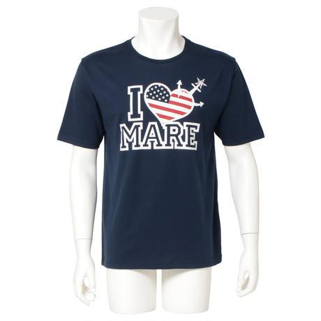 トレスター I LOVE MARE Tシャツ ネイビー
