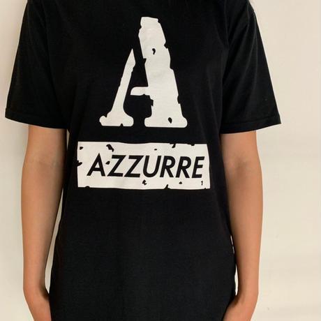 AZRオリジナル AロゴTシャツ ブラック