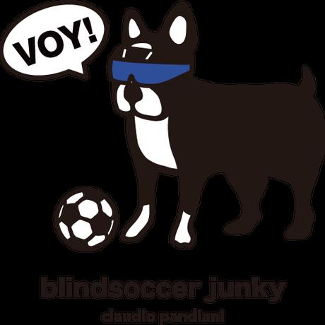 【限定】Blindsoccer × SoccerJunkyコラボ VOY犬TEE