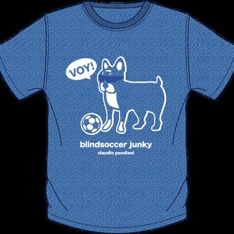 【限定】Blindsoccer × SoccerJunkyコラボ VOY犬DRYTEE