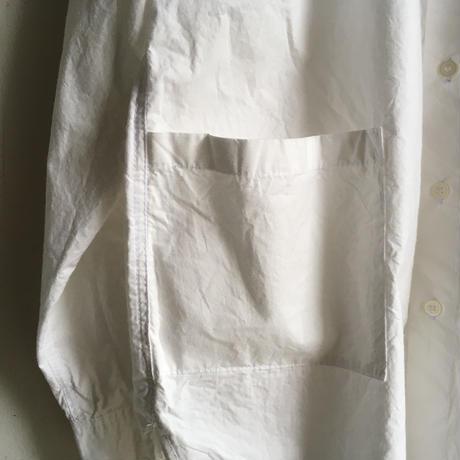 Yarmo  Band Collar Shirts(White)