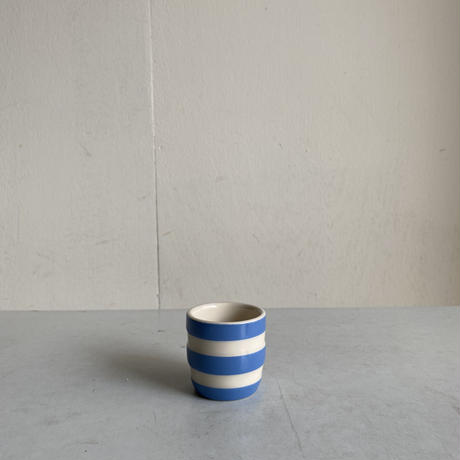 Blue x White Egg Cup ( A )