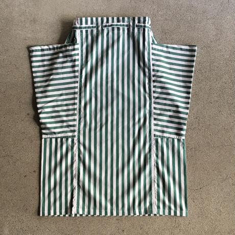 Yarmo  Side Pocket Apron Candy Stripe(Green)