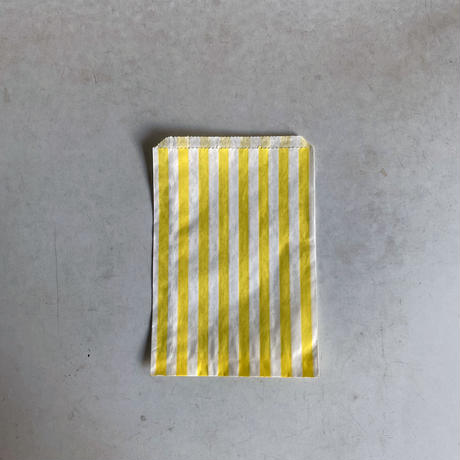 Yellow Candy Stripe Bag ( S ) 10枚セット