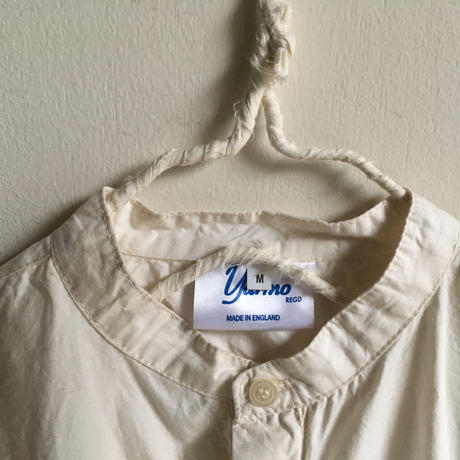 Yarmo  Band Collar Shirts(Natural)
