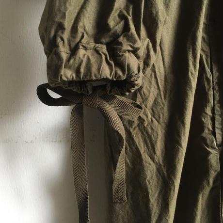 Yarmo  Gathered Dress(Khaki)
