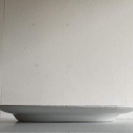 Oval plate( B )