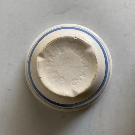 Blue x White Pudding Bowl( D )