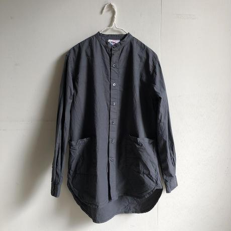 Yarmo  Band Collar Shirts(Charcoal)