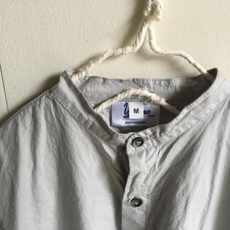 Yarmo  Band Collar Shirts(Grey)