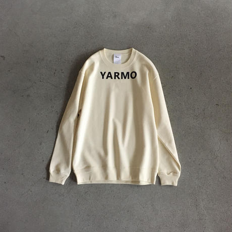 "Yarmo  ""YARMO"" Sweat(Natural)"