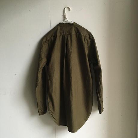 Yarmo  Band Collar Shirts(Khaki)