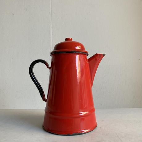 Enamel Tea Pot( Red )