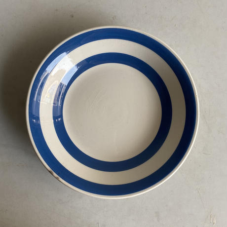 Blue x White Plate( C )