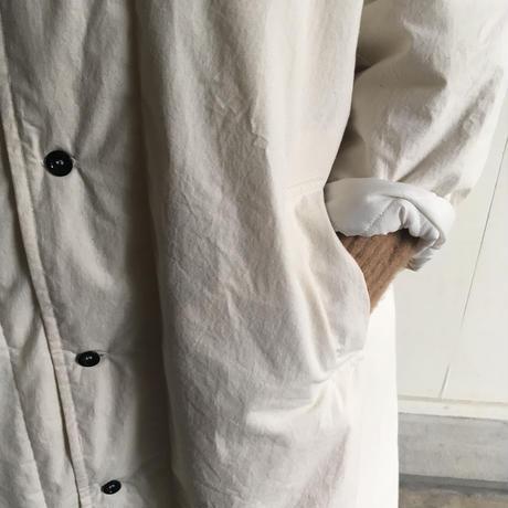 Yarmo  Quilting Lab Coat( Natural )