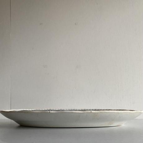 """Pountney & Bristol  """" Kendal Pattern """" Oval plate( 40.5cm )"""